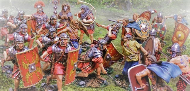 roman fighting