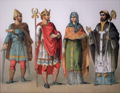 anglo saxon clothes
