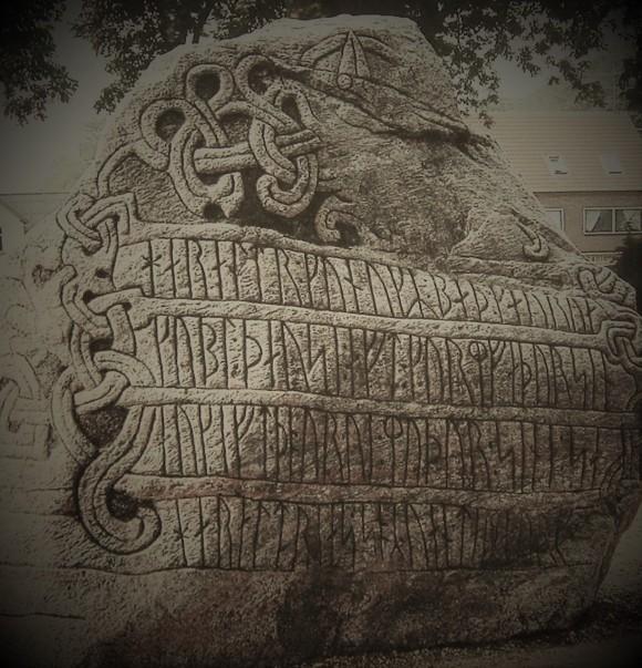 viking rune stone 1
