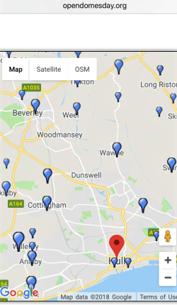 domesday map