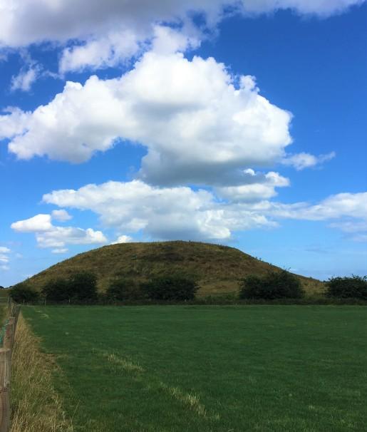 norman skipsea castle hill