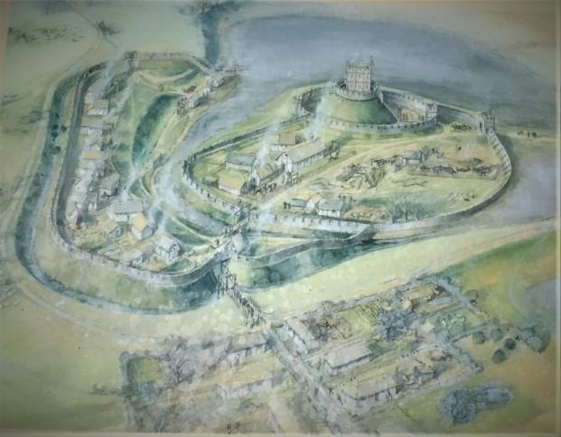 skipsea castle picture