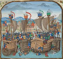 1340's Edward III Royal Navy, fighting french